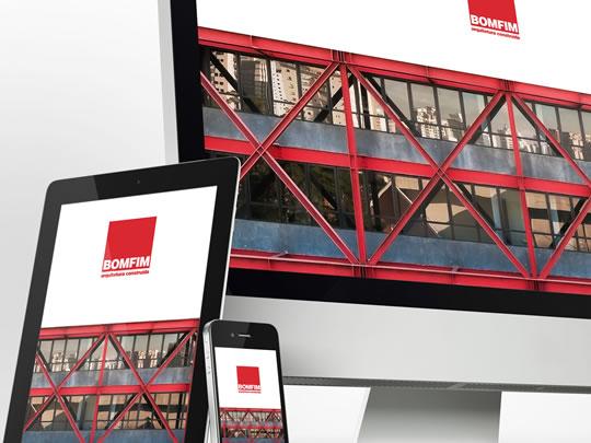 Bomfim Arquitetura – Redesign da marca