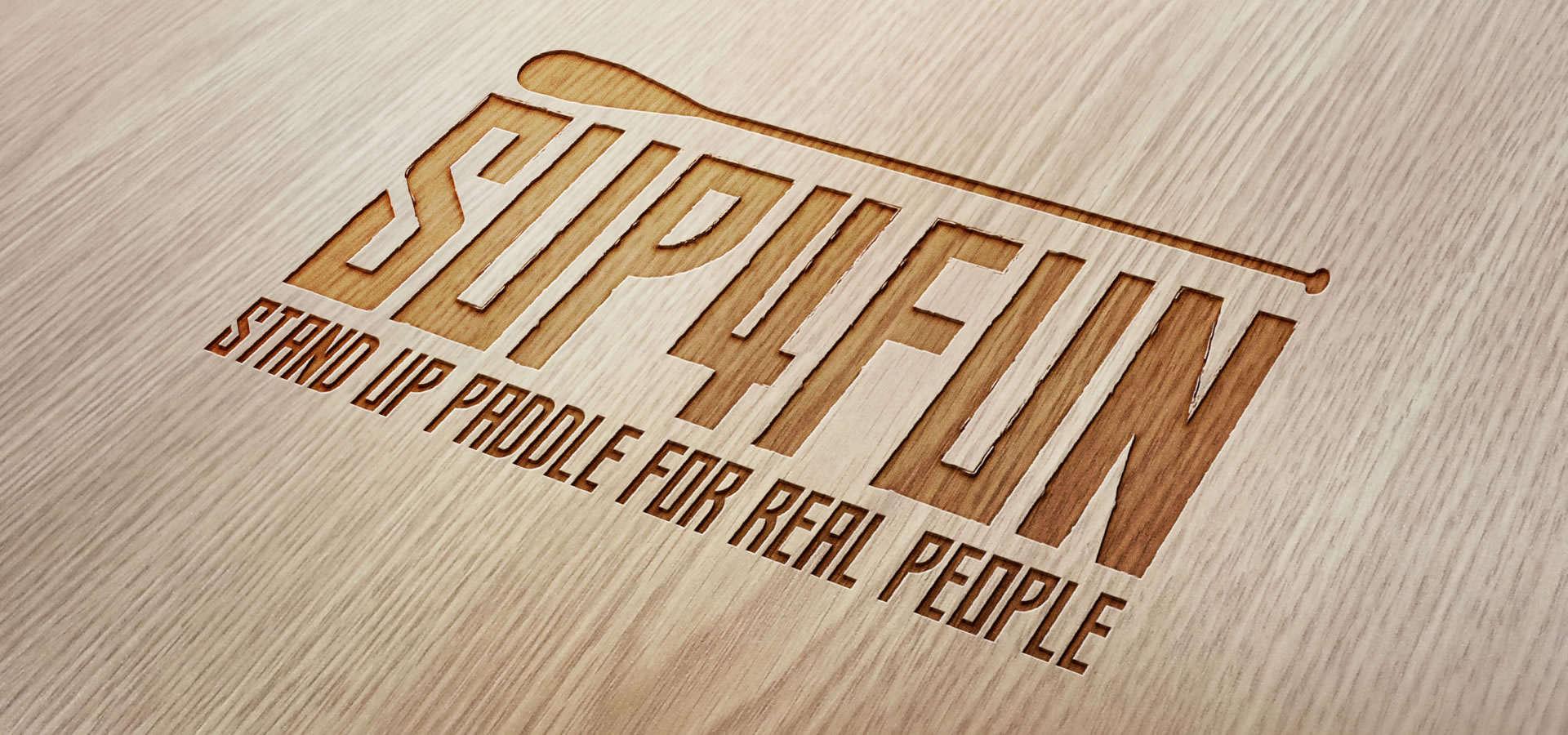 Criação de marca SUP4FUN