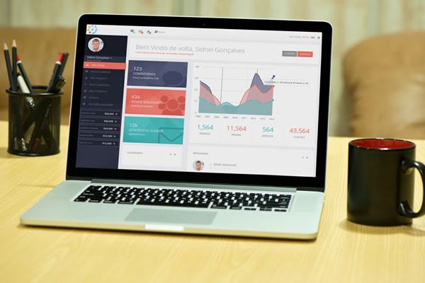 Interface para aplicação AgendeMe