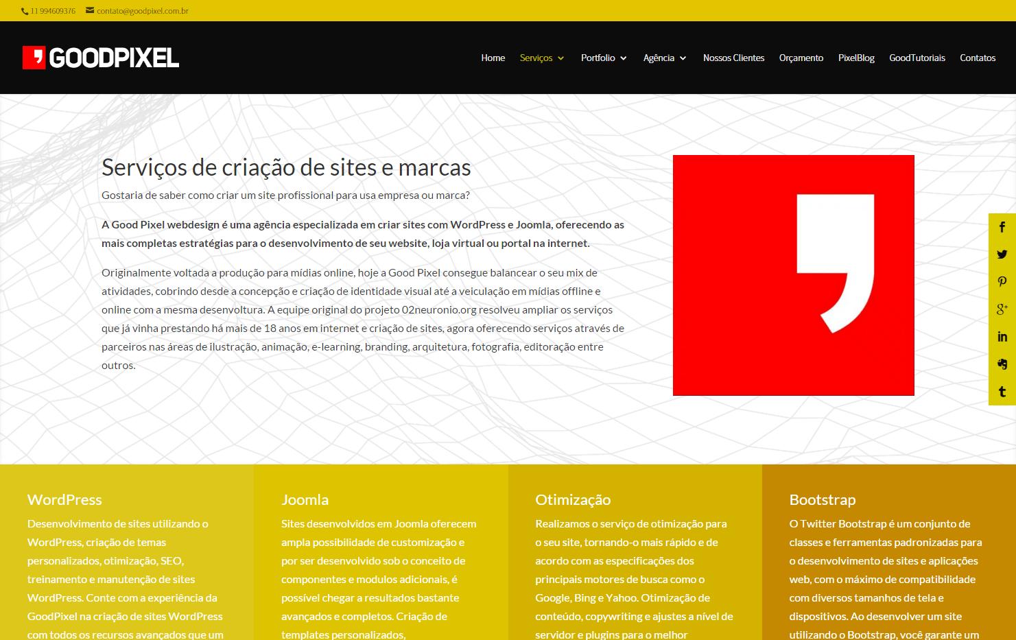 ba486a876ee Desenvolvimento de Sites