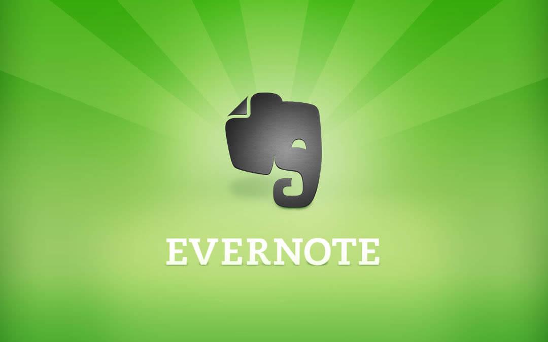 Usando o Evernote