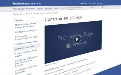 Construir seu público no Facebook