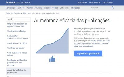 Aumentar a eficácia das publicações no Facebook
