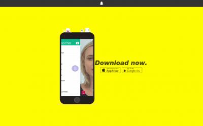 Snapchat – Um conselho? Use!