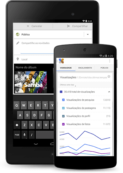 Google app Meu negócio