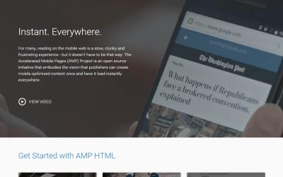 Configurando o WordPress para AMP: Páginas Mobile Aceleradas