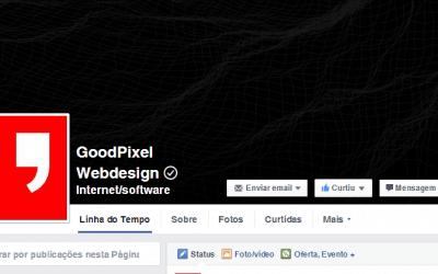 Verificação na fan-page do Facebook