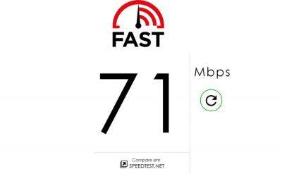 Teste a velocidade de sua conexão