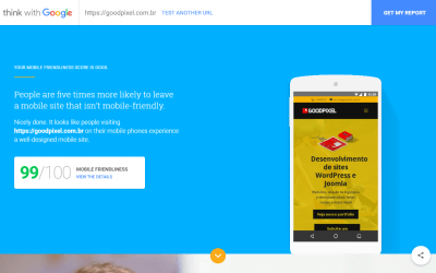 Nova ferramenta do Google para testes de velocidade mobile