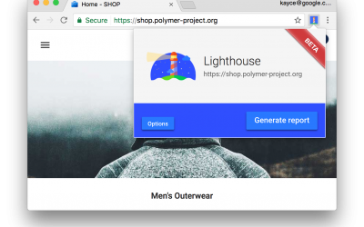 Analisar apps da Web com o Lighthouse