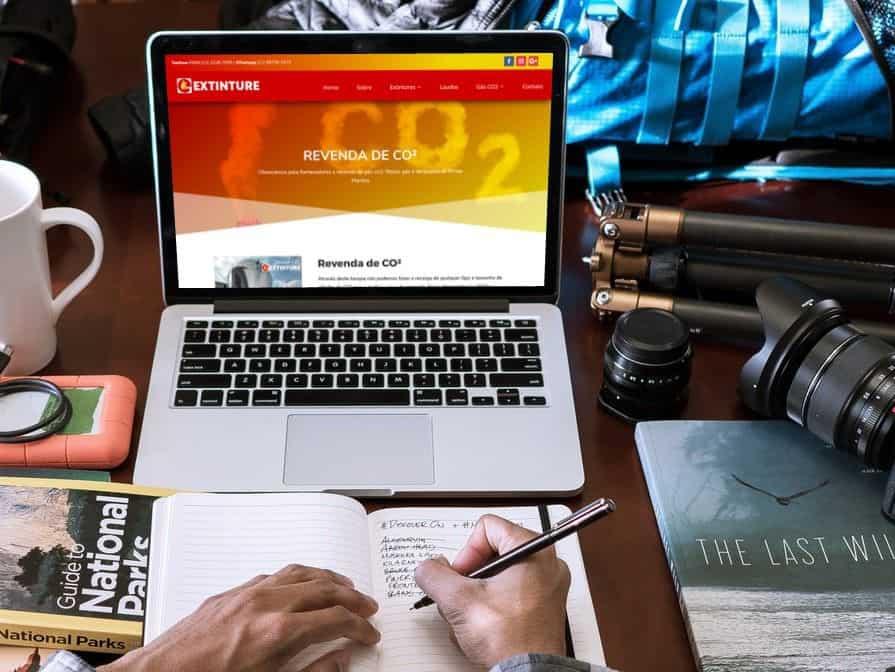 Website para Extinture